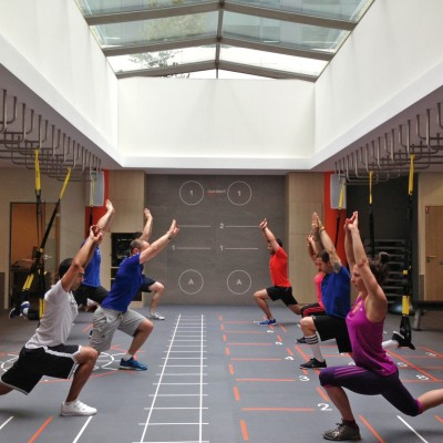 TRX exercices  men's health